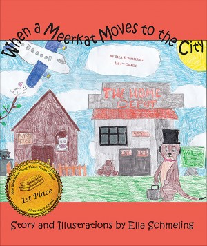When a Meerkat Moves to the City by Ella Schmeling from Bookbaby in Teen Novel category
