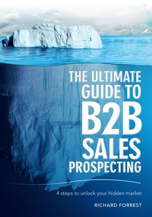 The Ultimate Guide to B2B Sales Prospecting by Richard Forrest from Bookbaby in Business & Management category