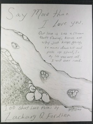 Say More Than I Love You by Zachary Q. Fordham from Bookbaby in Language & Dictionary category