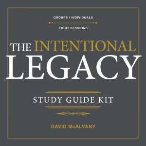 The Intentional Legacy Study Guide Kit by David McAlvany from Bookbaby in Family & Health category