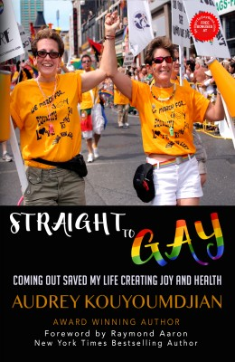 Straight to Gay by Audrey Kouyoumdjian from Bookbaby in Autobiography & Biography category