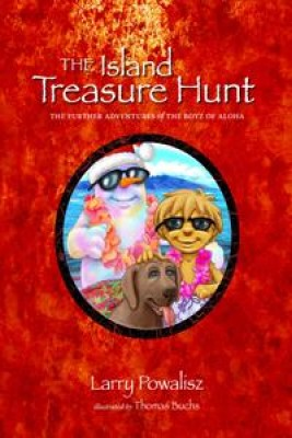 The Island Treasure Hunt by Larry Powalisz from Book Hub Incorporated in Children category