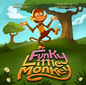 Funky Little Monkey by Debbie Buttar from Book Hub Incorporated in Children category
