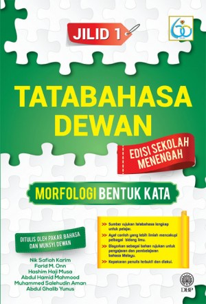 Tatabahasa Dewan Morfologi Bentuk Kata Jilid 1 Edisi Sekolah Menengah