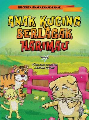 Anak Kucing Berlagak Harimau