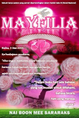 MAYFILIA by Nai Boon Mee Sararaks from Earth Authors Publishing in Teen Novel category