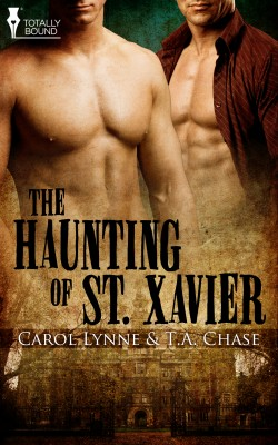 The Haunting of St. Xavier by T.A. Chase from Vearsa in Romance category