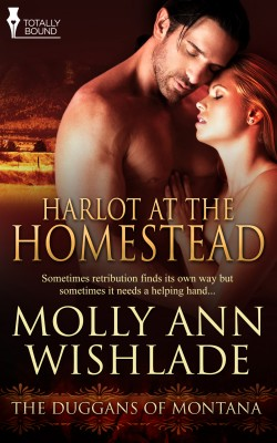 Harlot at the Homestead by Molly Anne Wishlade from Vearsa in Romance category