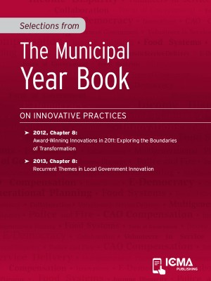 Selections from The Municipal Year Book by James  H.  Svara from Vearsa in Finance & Investments category