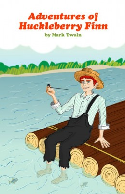 Adventures of Huckleberry Finn by Mark Twain from Vearsa in General Novel category