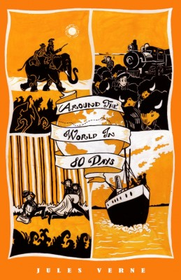 Around the World in 80 Days by Jules Verne from Vearsa in General Novel category