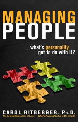Managing People...What's Personality Got To Do With It? by Carol Ritberger from Vearsa in Lifestyle category