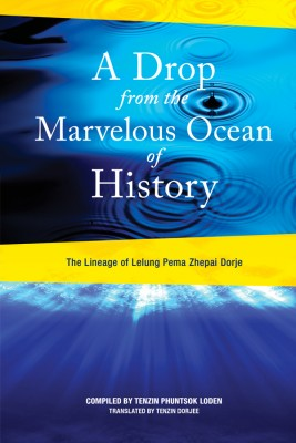 A Drop from the Marvelous Ocean of History by Lelung Tulku Rinpoche XI from Vearsa in Religion category