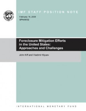 Foreclosure Mitigation Efforts in the United States: Approaches and Challenges by Vladimir Klyuev from Vearsa in Finance & Investments category