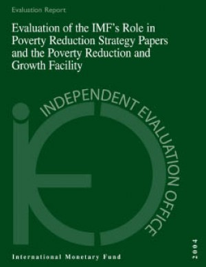 Evaluation of the IMF's Role in Poverty Reduction Strategy Papers and the Poverty Reduction and Growth Facility by David Goldsbrough from Vearsa in Finance & Investments category
