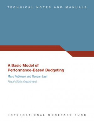 A Basic Model of Performance-Based Budgeting by Marc Robinson from Vearsa in Finance & Investments category