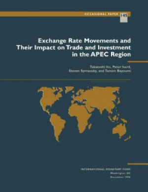 Exchange Rate Movements and Their Impact on Trade and Investment in the APEC Region by Takatoshi Ito from  in  category