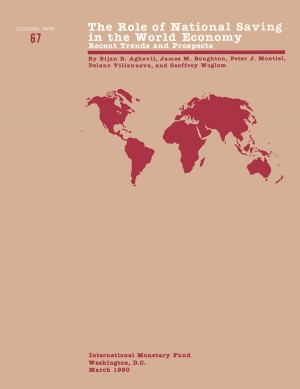 The Role of National Saving in the World Economy: Recent Trends and Prospects by International Monetary Fund from Vearsa in Finance & Investments category