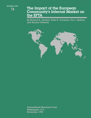 The Impact of the European Community's internal Market on the EFTA by International Monetary Fund from Vearsa in Finance & Investments category
