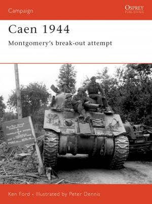 Caen 1944 by Peter Dennis from Vearsa in History category