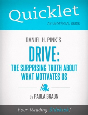 Quicklet on Daniel H. Pink's Drive: The Surprising Truth About What Motivates Us by Paula  Braun from Vearsa in Teen Novel category