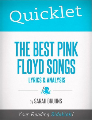 Quicklet on The Best Pink Floyd Songs: Lyrics and Analysis by Sarah Bruhns from Vearsa in Teen Novel category