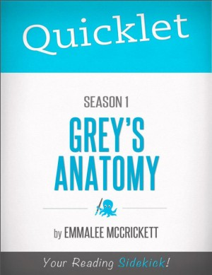 Quicklet on Grey's Anatomy Season 1 by EmmaLee McCrickett from Vearsa in Teen Novel category