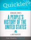 Quicklet on Howard Zinn's A People's History of the US by Matthew  Cote from  in  category