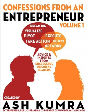 Confessions from an Entrepreneur (Volume 1) by Ash Kumra from Vearsa in Finance & Investments category