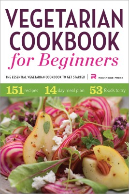 Vegetarian Cookbook for Beginners by Rockridge Press from Vearsa in General Novel category