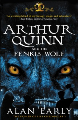 Arthur Quinn and the Fenris Wolf by Alan Early from Vearsa in Teen Novel category
