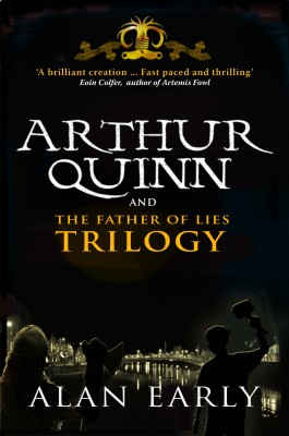Arthur Quinn and The Father of Lies Trilogy by Alan Early from Vearsa in Teen Novel category