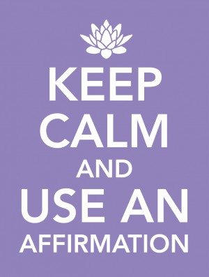Keep Calm and Use an Affirmation by Cameron McCool from Vearsa in Lifestyle category