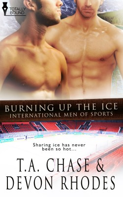 Burning Up the Ice by Devon  Rhodes from Vearsa in Romance category