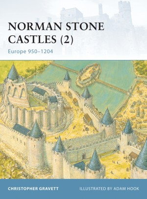 Norman Stone Castles (2): Europe 950-1204 by Christopher Gravett from Vearsa in History category