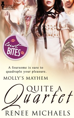 Quite a Quartet by Renee Michaels from Vearsa in Romance category