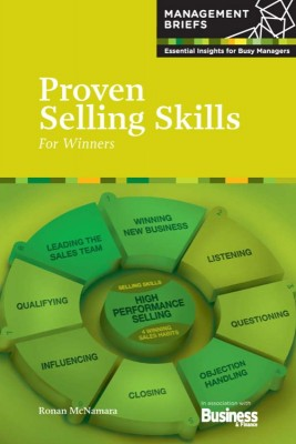 Proven Selling Skills - For Winners by Ronan McNamara from Vearsa in Finance & Investments category