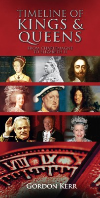 Timeline of Kings and Queens by Gordon Kerr from Vearsa in History category