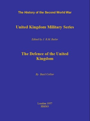 The Defence of the United Kingdom by Basil Collier from Vearsa in History category