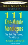 The Ultimate Monologue Book for Middle School Actors Volume IV by Kristen Dabrowski from  in  category