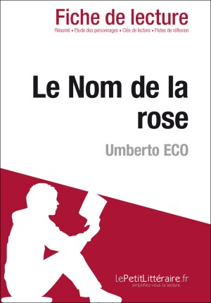 Le nom de la rose de Umberto Eco (Fiche de lecture) by Nathalie Roland from Vearsa in General Novel category