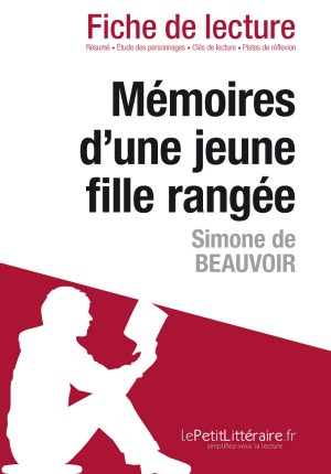 Mémoires d'une jeune fille rangée de Simone de Beauvoir (Fiche de lecture) by Natacha Cerf from Vearsa in General Novel category