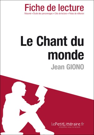 Le Chant du monde de Jean Giono (Fiche de lecture) by Sorène Artaud from Vearsa in General Novel category