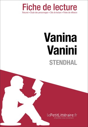 Vanina Vanini de Stendhal (Fiche de lecture) by Dominique Coutant from Vearsa in General Novel category