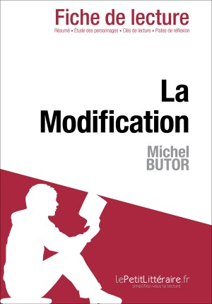 La Modification de Michel Butor (Fiche de lecture) by Evelyne Marotte from  in  category