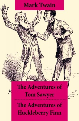 The Adventures of Tom Sawyer + The Adventures of Huckleberry Finn by Mark Twain from Vearsa in General Novel category