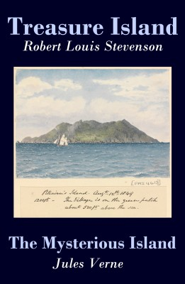 Treasure Island + The Mysterious Island (2 Unabridged Classics) by Jules Verne from Vearsa in General Novel category