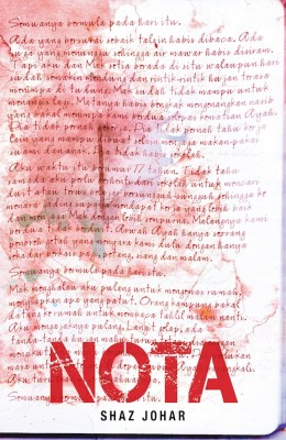 NOTA by Shaz Johar from Buku Fixi in General Novel category