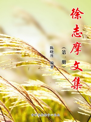 徐志摩文集(第一册) by 陈晓丹 from Green Apple Data Center in Comics category