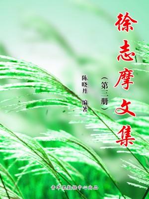 徐志摩文集(第三册) by 陈晓丹 from Green Apple Data Center in Comics category